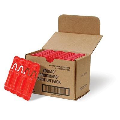 Zodiac Groomers' Spot On Pack - 48 (.65-cc) applicators