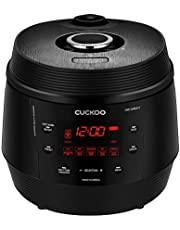 Cuckoo CMC-QAB501S, Q5 STANDARD 8 in 1 Multi (Pressure, Slow, Rice Cooker, Browning Fry, Steamer, Warmer, Yogurt, Soup Maker) Aluminum Inner Pot, Q50, Midnight Black