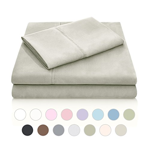 MALOUF Double Brushed Microfiber Super Soft Luxury Bed Sheet