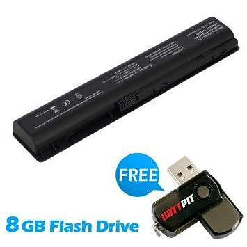 Battpit Recambio de Bateria para Ordenador Portátil HP Pavilion dv9850 Series (4400mah / 63wh) Con memoria USB de 8GB GRATUITA: Amazon.es: Electrónica