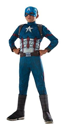 Rubie's Costume Captain America: Civil War Deluxe Captain America Costume, (Captain America Costume Size 12-14)