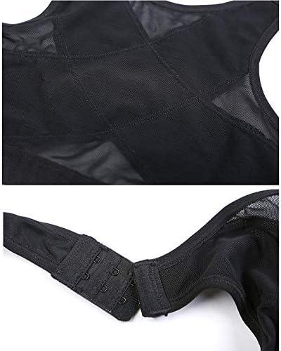Loopunk Posture Correcteur Soutien-Gorge Femme sans Fil Support de Dos Lift Up Yoga Soutien-Gorge sous-V/êtements Confortable Sangle D/ébardeur