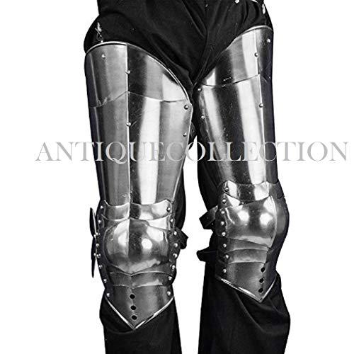 14th - 15th Century Gothic Leg Armor - 16 Gauge ()