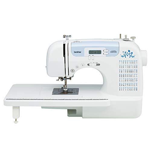 Brother CS7000i Computerized Sewing Machine with 70 Built in Stitches, White