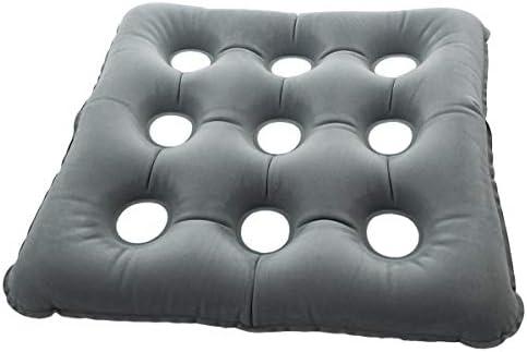 ObboMed SV-2248 Aufblasbares Sitzkissen mit Velour-Oberfläche - hervorragend geeignet zur beim Arbeiten, beim...