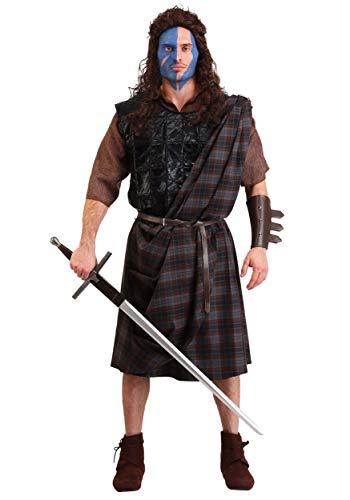 Men's Classic Costume Braveheart Standard