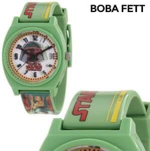 New Star Wars Kids' Boba Fett Analog Watch