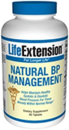 Life Extension Optimal BP Management 60 Tablets Pack of 2