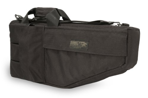 Elite Survival Systems SMGC-B-3 Submachine Gun Case (Black, ()