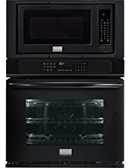 Frigidaire FGMC3065PB Gallery 30 Wide Microwave Combination Oven with 4.6 cu. ft. Oven Capacity True Convection System Express-Select Controls 16 Turntable 10 Power Levels in