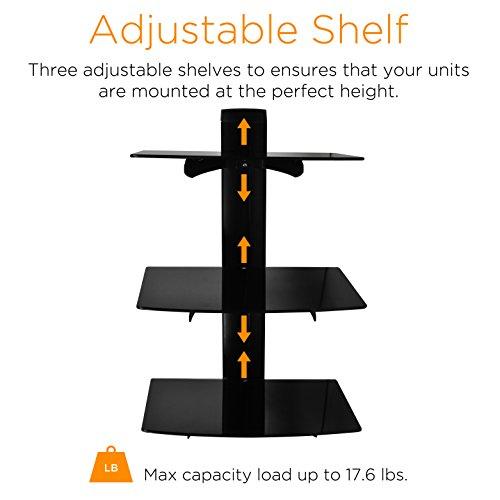 3 Shelf Quicker and Easier Installation, Universal DVD Playe