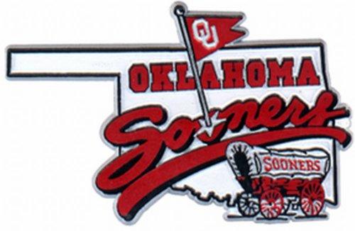 - NCAA Oklahoma Sooners 2D Mascot Map Magnet