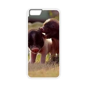 "HOPPYSCover Shell Phone Case Little Pig For iPhone 6 Plus (5.5"")"