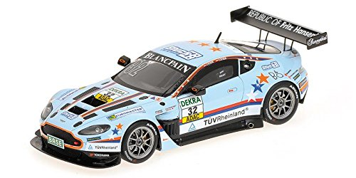 Aston Martin Vantage v12 gt3チームYoungドライバ – J。Stuck / F。Stuck – ADAC GT Masters 2012樹脂モデルCar In 1 : 43 Scale by Minichamps B00JIMXHHE