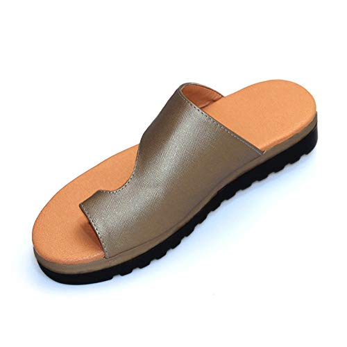 ZDUM 2019 New Ladies Shoes, Fashion Comfy Platform Sandal Summer Beach Comfortable Women Shoes in Home Travel (38, -