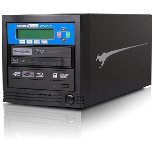 Kanguru Blu-Ray Duplicator 1 Target BD Duplicator - External, Black (U2-BRDUPE-S1)