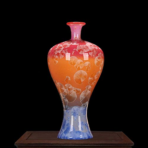 Vase Ceramic Water Droplets Glaze Beauty Bottles Creative Home Dried Flower Plug for Flowers (Size : D) (Droplet Vase)