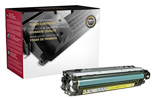 Inksters Remanufactured Toner Cartridge Replacement for HP CE742A (HP 307A) - 7.3K Pages (Yellow)