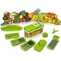 Yeni Nesil Akıllı Sebze Meyva Dilimleyici Doğrayıcı Rende Paslanmaz Doğrama Seti