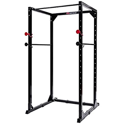 Goplus Power Rack Heavy Duty Pull/Chin Up Bars Squat Cage for Strength Training and Muscle Building