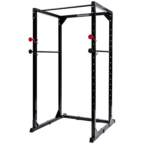 Goplus Power Rack Heavy Duty Pull/Chin Up Bars Squat Cage for Strength Training and Muscle Building by Goplus