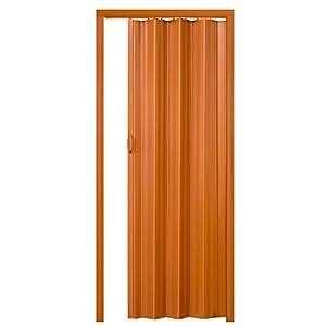 Tectake puerta plegable de pl stico pvc puertas plegables - Puertas correderas de plastico ...