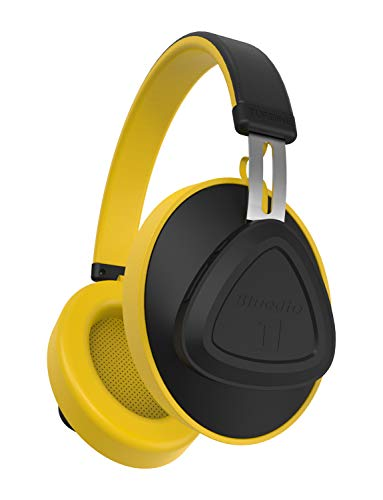 Bluedio TM Bluetooth Headphones Over Ear, Voice Control Hi-Fi Stereo Wireless Headset with Mic Supports Amazon Web Services (AWS) for Travel Work Cellphone, Yellow