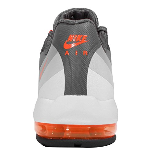 nike mujeres air max 95 ultra zapatillas para correr 749212 zapatillas dark grey total orange cool grey wolf grey 001