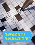 Best Crossword Puzzle Dictionaries - Crossword Puzzle Books For Adults Easy: Crossword puzzle Review
