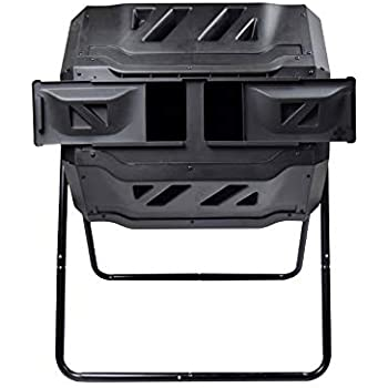 Amazon.com : Miracle-Gro Dual Chamber Compost Tumbler ...