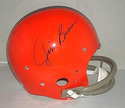 Jim Brown Autographed Signed Cleveland Browns Helmet - 8X All Pro 3X MVP  Memorabilia - JSA bc5b1c0e5
