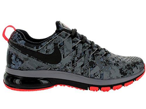 Nike Fingertrap Max Amp, Zapatillas de Senderismo para Hombre Plateado (reflect silver/black-dark grey-cool grey)