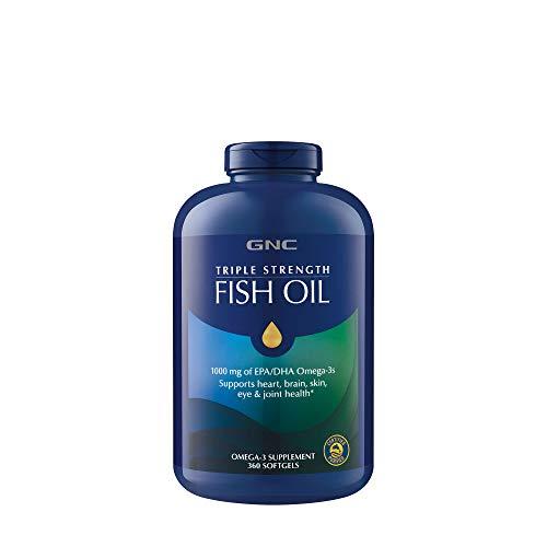 GNC Fish Oil 1000 Milligram of EPA/DHA Omega 3s for Joint, S