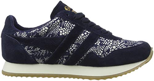 Women's Ew Ws Off Gola White Navy Blue Spirit Trainers Liberty Aq4Cdwz