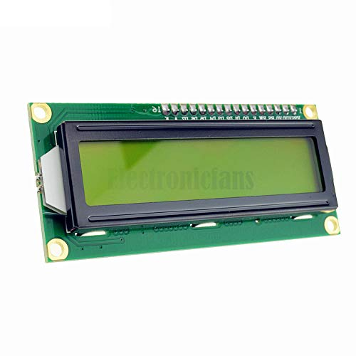 1602 16x2 Character LCD Display Module HD44780 Controller Yellow Blacklight L1ST