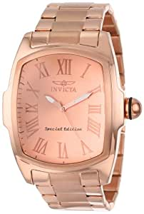 """Invicta Men's 15194 """"Lupah"""" 18k Rose Gold Ion-Plated Watch"""