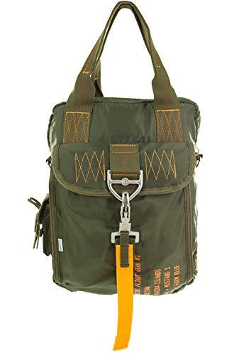 Farm Blue Tactical Flight Bag – Aviators Parachute Pilot Helmet Bag #1 OD Green - Military Style