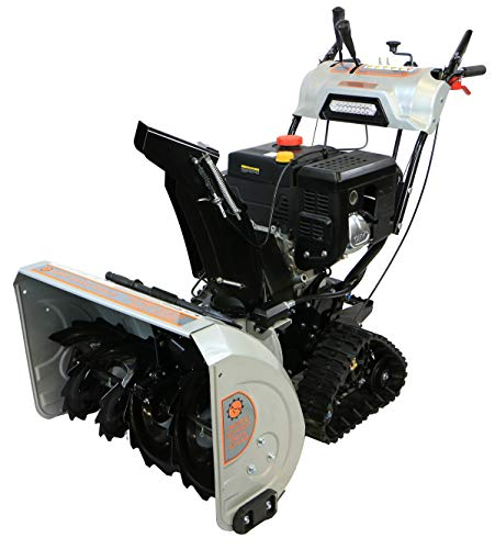 Dirty Hand Tools 103880 Self-Propelled – Electric Start 302cc Gas – 30″ Snow Blower With Tracks