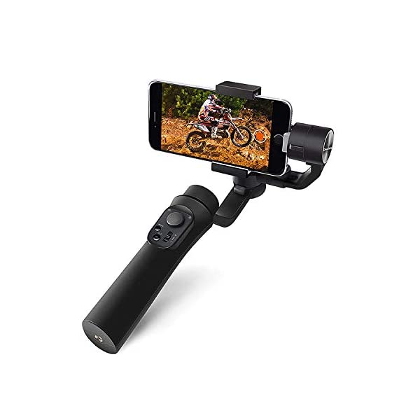 Osaka 3-Axis Handheld Mobile Gimbal Stabilizer Gimble 360° Rotation Pan Inception Mode Stunning Motion Time Lapse Stabilizer for Smartphone, iPhone Xs Max Xr X 8 Plus, Samsung Galaxy S9+ S8+ S7 S6 1