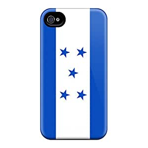 New Style Tpu 4/4s Protective Case Cover/ Iphone Case - Honduras Flag