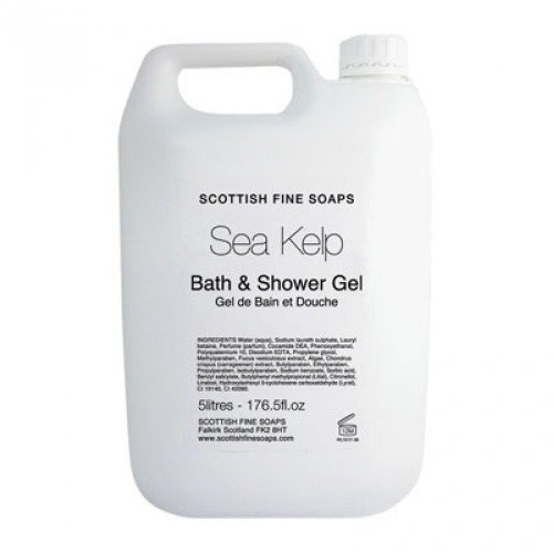 Janitorial Express BK512-5 Sea Kelp Bath and Shower Gel, 5 L