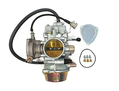 YFM660F Carburetor w/Air Filter Oil Filter for Yamaha 1998-2000 Grizzly 600 4x4 YFM600FW 2002 2003 2005 2006 2007 2008 YFM660F Grizzly 4x4 (Yamaha Rhino Oil)