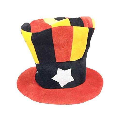 Clown Hat Adults Carnival Party Hats Halloween Fancy Dress Decoration,as pic