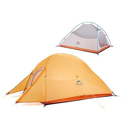 Naturehike Cloud-up 2 Ultralight Camping Tent voor 2 Personen – Waterdichte Dubbellaags Backpacking Tent 4 Seizoenen