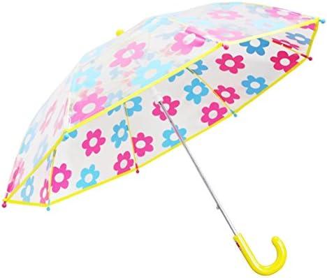 弘懋 TANPOPO 45cmPOE子供傘デイジー 黄色 パイピングあり(女児向け) 53388