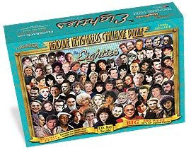 Price comparison product image 1980's Decade Puzzle, 500-piece Happy 30th Birthday or Anniversary Gift