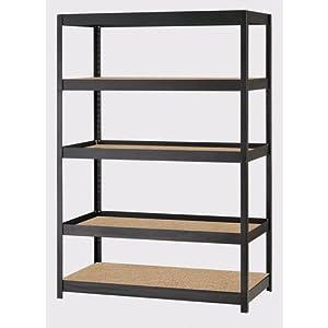 edsal mr4824blklb 72 in h x 48 in w x 24 in d. Black Bedroom Furniture Sets. Home Design Ideas
