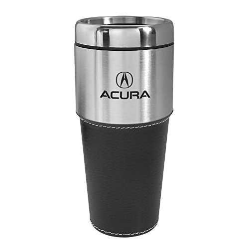 acura-black-leather-stainless-steel-tumbler