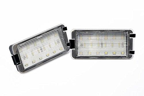 LED Kennzeichenbeleuchtung ohne Fehlermeldung mit E-Pr/üfzeichen Eintragungsfrei