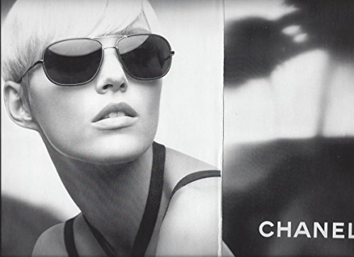 Magazine PAPER AD For Chanel Aviator Sunglasses - 2008 Sunglasses